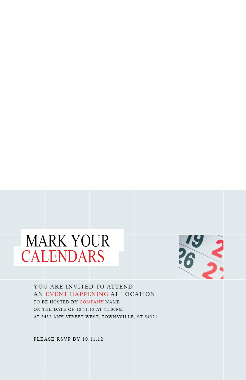 customizable every door direct mail template 10064 for business events save the date. Black Bedroom Furniture Sets. Home Design Ideas